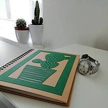Papiernictvo - Kaktusový... - 11033737_