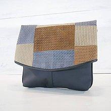 Veľké tašky - Jemen - kabelka cez rameno a krížom - 11032300_