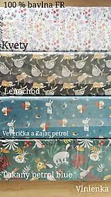 Textil - VLNIENKA výroba na mieru 100 % bavlna potlačená detské vzory FR - 11035391_