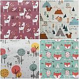 Textil - VLNIENKA výroba na mieru 100 % bavlna potlačená detské vzory FR - 11035393_