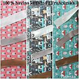 Textil - VLNIENKA výroba na mieru 100 % bavlna potlačená detské vzory FR - 11035394_