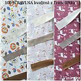 Textil - VLNIENKA výroba na mieru 100 % bavlna potlačená detské vzory FR - 11035395_