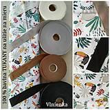 Textil - VLNIENKA výroba na mieru 100 % bavlna potlačená detské vzory FR - 11035399_
