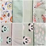Textil - VLNIENKA výroba na mieru 100 % bavlna potlačená detské vzory FR - 11035414_