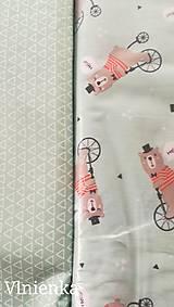 Textil - VLNIENKA výroba na mieru 100 % bavlna potlačená detské vzory FR - 11035433_