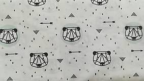 Textil - VLNIENKA výroba na mieru 100 % bavlna potlačená detské vzory FR - 11035437_