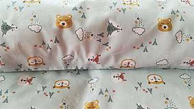 Textil - VLNIENKA výroba na mieru 100 % bavlna potlačená detské vzory FR - 11035593_