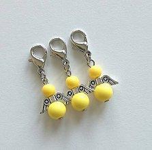 Kľúčenky - Minianjelik (Žltá) - 11035382_