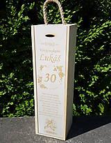 Dekorácie - Elektrikár obal na vínko - 11032612_