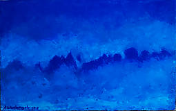 Obrazy - Zimná mgla - 11035173_