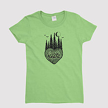 Tričká - Dámske tričko - 11035885_