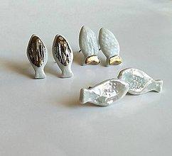 Náušnice - porcelánové náušnice - Rybky, rybky, rybičky - 11033756_