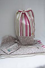 Detské tašky - Vrecúška pre školáčku - 11035190_