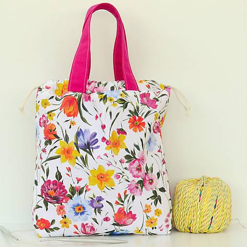 Zakvitnutá taška ~ tvoritaška + nákupná