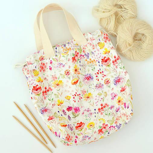 Taška z letnej lúky ~ tvoritaška + nákupná