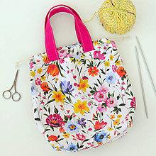 Iné tašky - Zakvitnutá taška ~ tvoritaška + nákupná - 11034866_