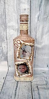 Nádoby - Fľaša s fotkou - 11033358_