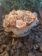 Iné doplnky - Kytička v keramike - 11034939_