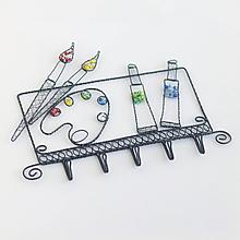 Detské doplnky - vešiak pre maliarku - 11037906_