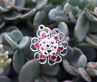 Iné šperky - Privesok Kvietok - 11038557_
