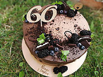Dekorácie - Zápich na tortu číslo 60 - 11038383_