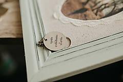 Kľúčenky - Prívesok na kľúče spolu zvládneme všetko - 11036802_