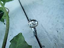 Prstene - Strieborný Prsteň s Rutilovým Krištáľom - 11038350_