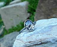 Prstene - Strieborný Prsteň s Rutilovým Krištáľom - 11038356_