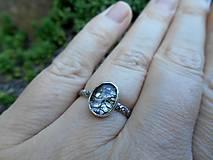 Prstene - Strieborný Prsteň s Rutilovým Krištáľom - 11038357_