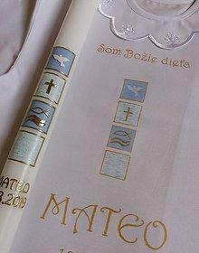 Detské doplnky - krstový set Giorgio - 11037337_
