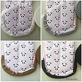 Textil - VLNIENKA výroba na mieru LEMOVKA podľa vlastného výberu na potlačenej bavlne - 11039881_