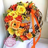 Dekorácie - Jesenný veniec - 11037167_