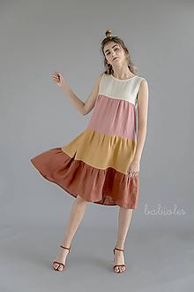 Šaty - Robe de Lin III - 100% ľan - 11039166_