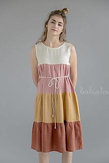 Šaty - Robe de Lin IV - 100% ľan - 11039167_