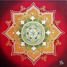 Obrazy - Mandala empatie a bezpečnej existencie - 11038882_