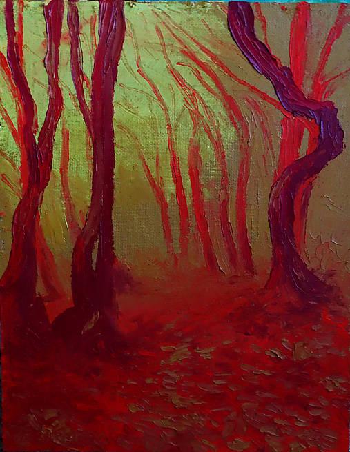 Mgla v lese