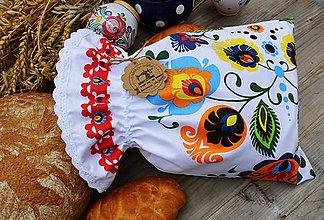 Úžitkový textil - Vrecko na pečivo - 11036292_