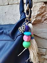 Kľúčenky - Prívesok na tašku alebo kľúče - Slon - 11038633_