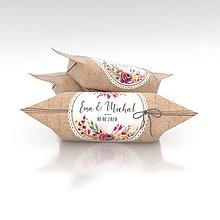 Darčeky pre svadobčanov - Svadobné krovky, vzor SV49 - 11037248_