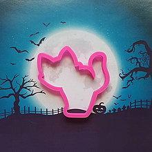 Pomôcky - Vykrajovačka Halloweenska mačka - 11037252_