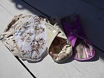 Úžitkový textil - látkova vložka-intimka,bambus - 11037923_