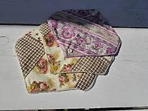 Úžitkový textil - látková vložka-intimka s bambusu - 11037990_