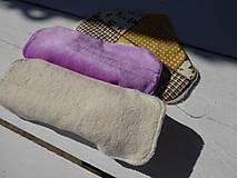 Úžitkový textil - látková vložka-intimka s bambusu - 11037998_