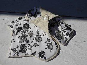 Úžitkový textil - látková vložka-denná S- s biobavlny,bambusu - 11038048_