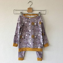 Detské súpravy - Detské pyžamo Hríbiky - 11037644_