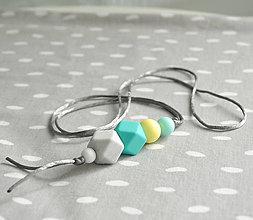 Náhrdelníky - Silikónový náhrdelník Ocean - 11037222_