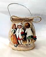 Svietidlá a sviečky - vianočný lampášik deti - 11037431_