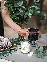 Úžitkový textil - Ľanový obrus na jedálenský stôl (125x140 - Hnedá) - 11038347_