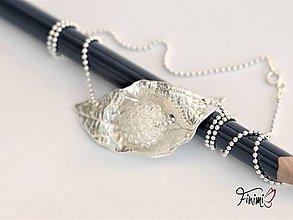 Náhrdelníky - Zamrznutý náhrdelník - 11039273_