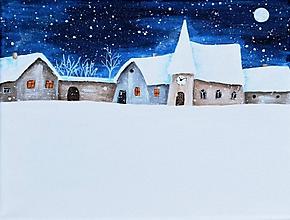 Obrazy - Zaviata noc 24x18 cm - 11039301_